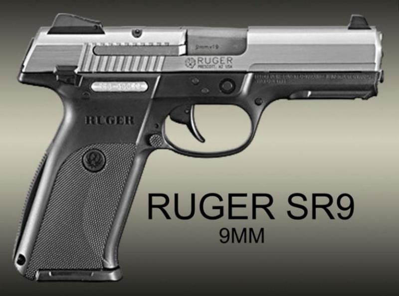 quel est le plus petit et plus leger semi-auto 9mm Ruger-10