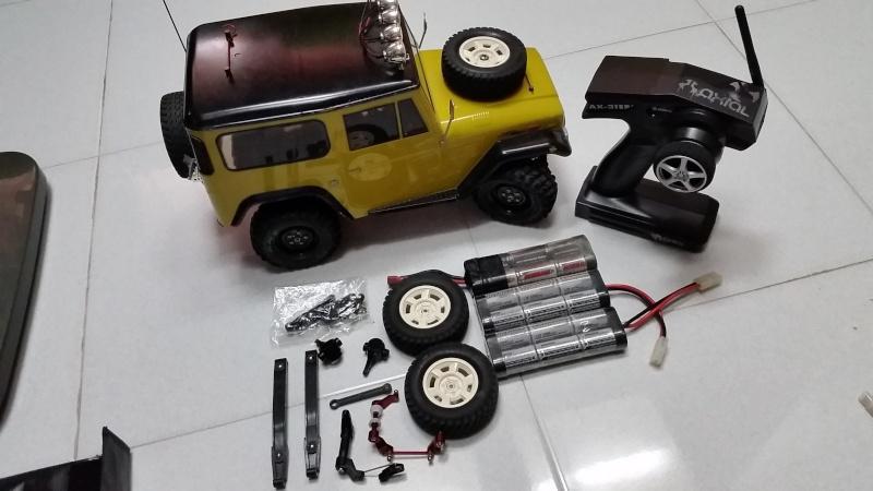 tamiya - WTS Tamiya CC-01 Crawler Set 2015-012
