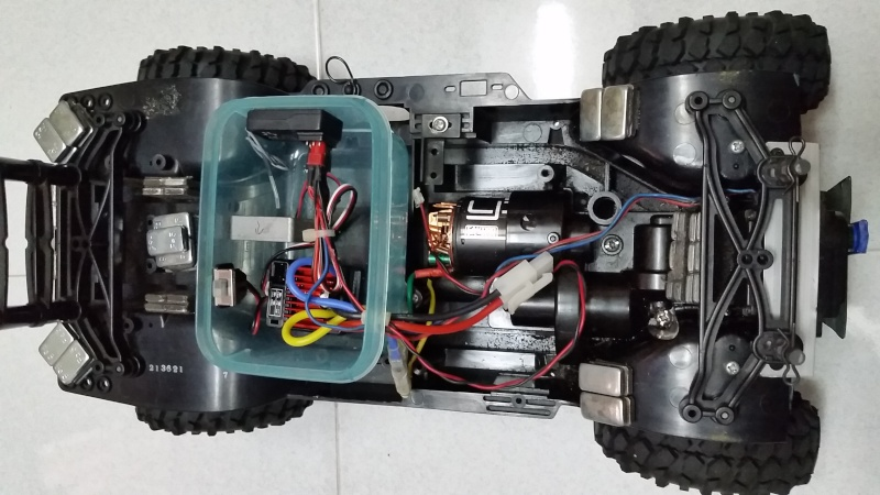 tamiya - WTS Tamiya CC-01 Crawler Set 2015-016