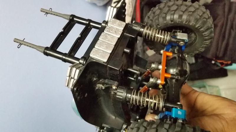 tamiya - WTS Tamiya CC-01 Crawler Set 2015-018