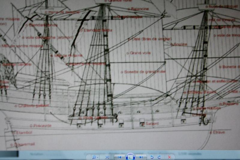 le radoub du ponant : Origine des voiles royales Img_2627