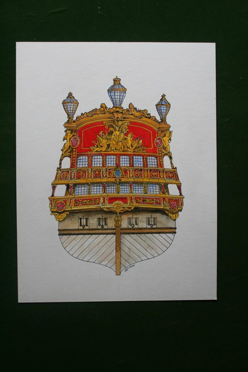 L'Ambitieux  un des navires de Tourville par michaud - Page 2 Img_4810