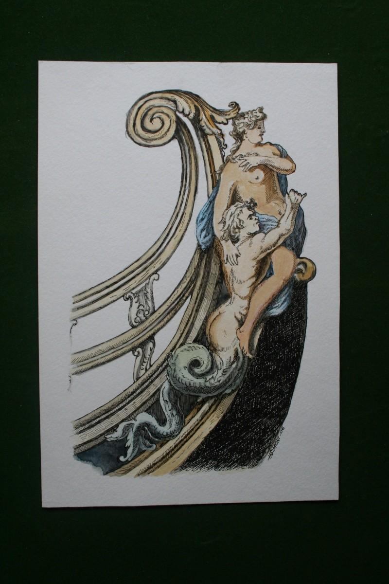 le radoub du ponant : Origine des voiles royales Img_4825