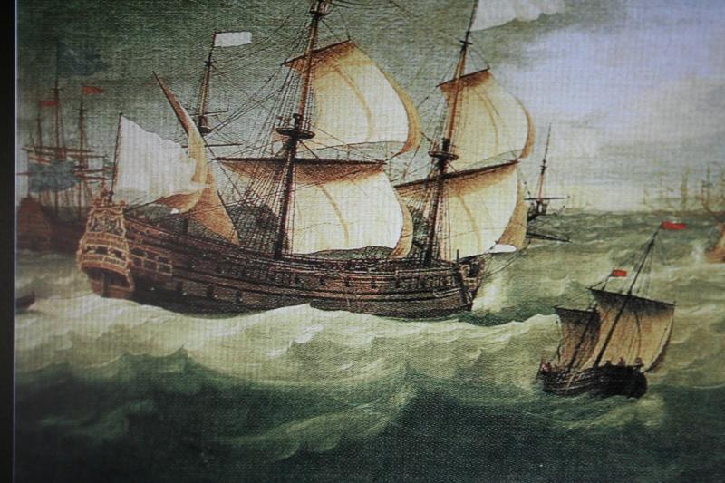 le radoub du ponant : Origine des voiles royales Img_5124