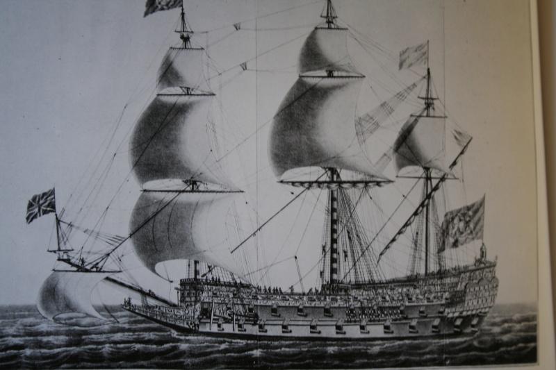 le radoub du ponant : Origine des voiles royales Img_5225