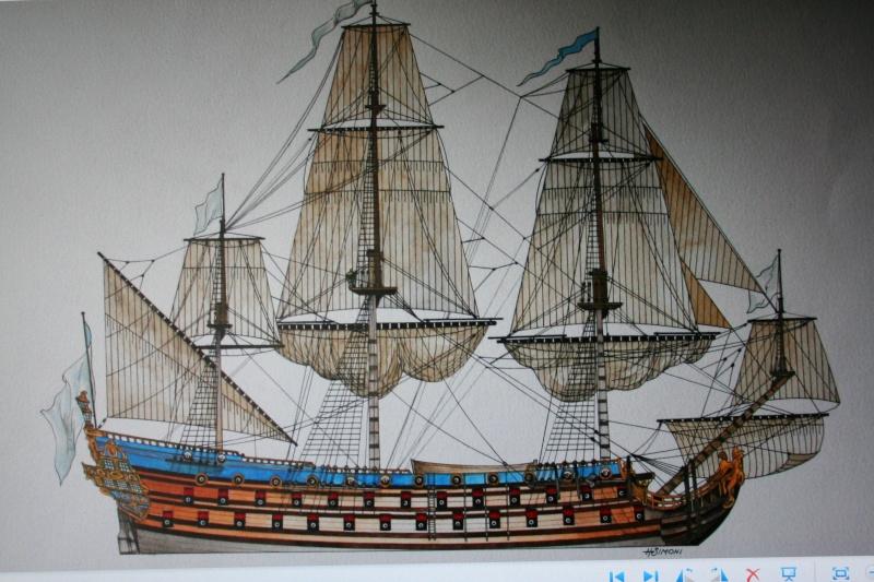 le radoub du ponant : Origine des voiles royales Img_5248