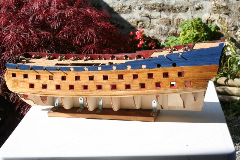 L'Ambitieux  un des navires de Tourville par michaud - Page 2 Img_5344