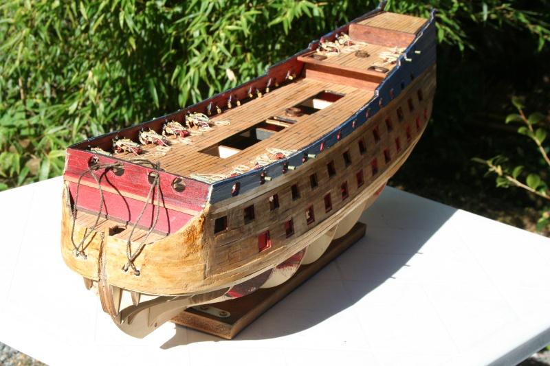 L'Ambitieux  un des navires de Tourville par michaud - Page 2 Img_5345