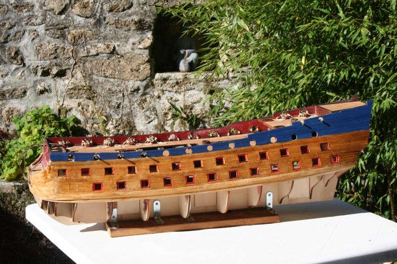 L'Ambitieux  un des navires de Tourville par michaud - Page 2 Img_5346
