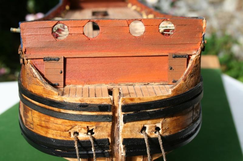 L'Ambitieux  un des navires de Tourville par michaud - Page 2 Img_5720