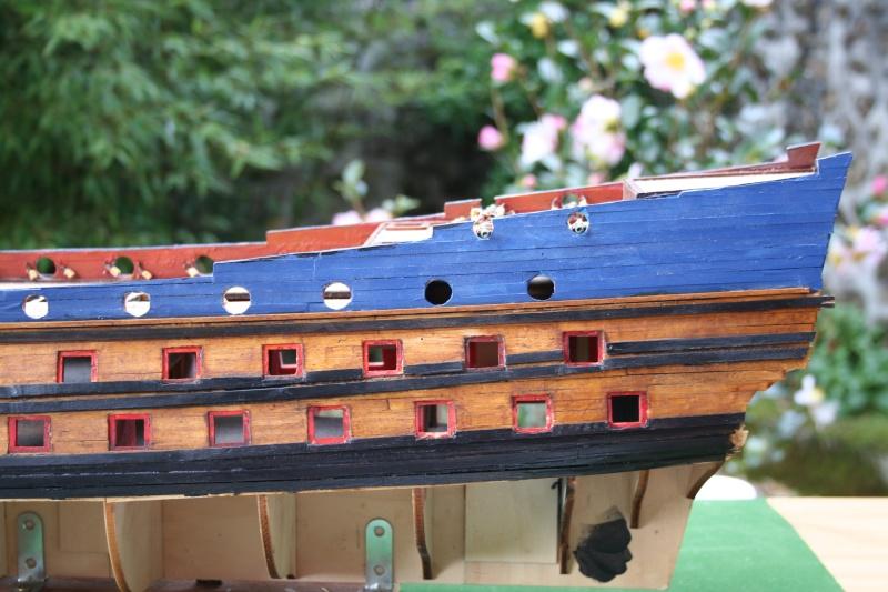 L'Ambitieux  un des navires de Tourville par michaud - Page 2 Img_5721