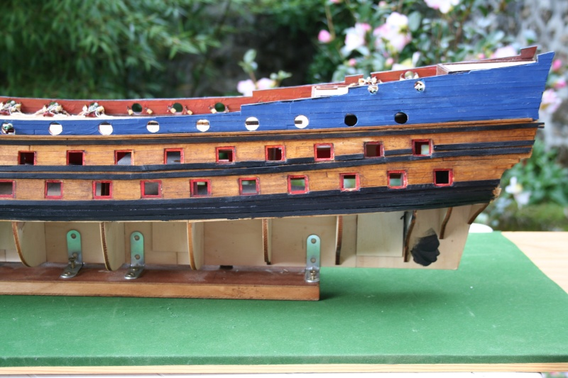 L'Ambitieux  un des navires de Tourville par michaud - Page 2 Img_5722