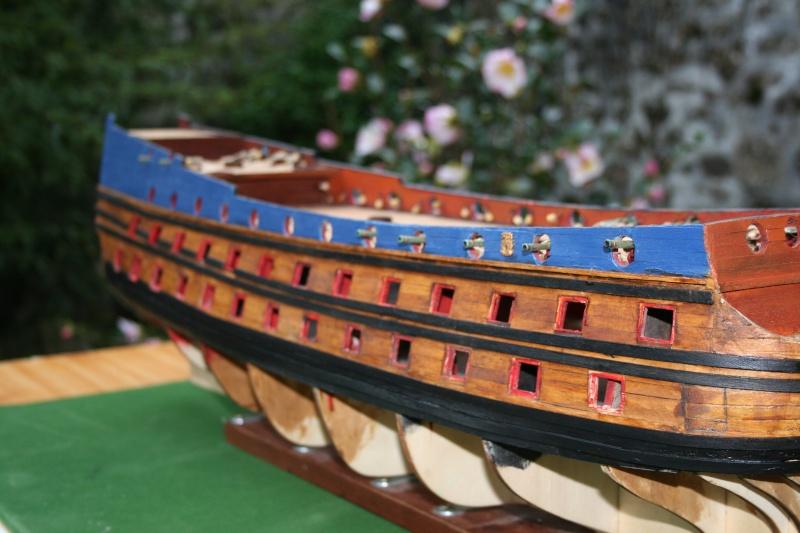 L'Ambitieux  un des navires de Tourville par michaud - Page 2 Img_5723