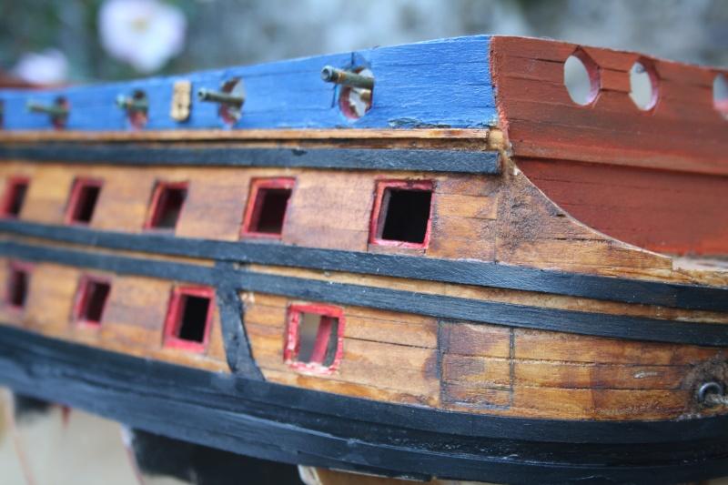 L'Ambitieux  un des navires de Tourville par michaud - Page 2 Img_5816