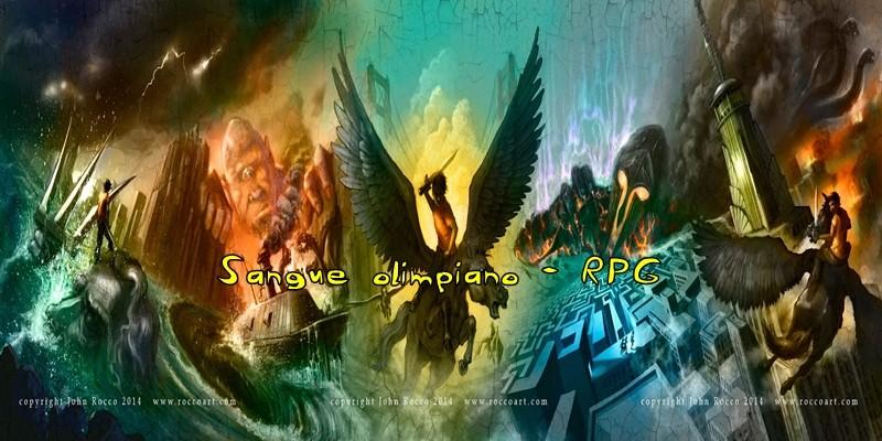 Sangue do Olimpo RPG