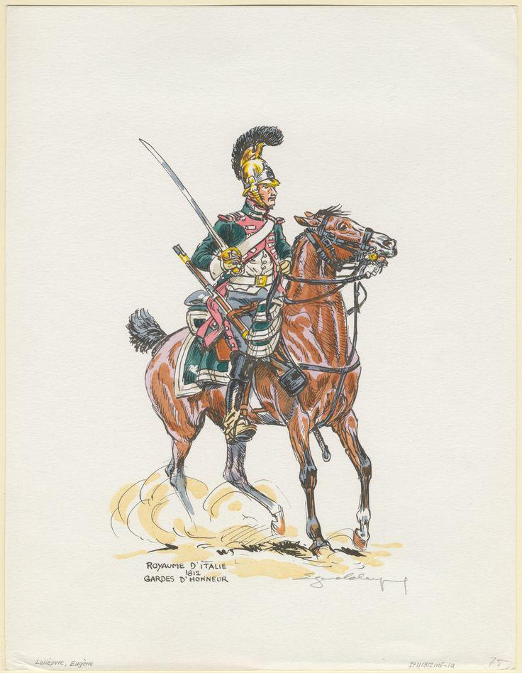 Projets en 28 mm : gardes d'Honneur italiens et gardes du Corps westphaliens C8d89410