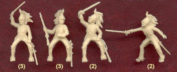 Projets en 28 mm : gardes d'Honneur italiens et gardes du Corps westphaliens Ita60110