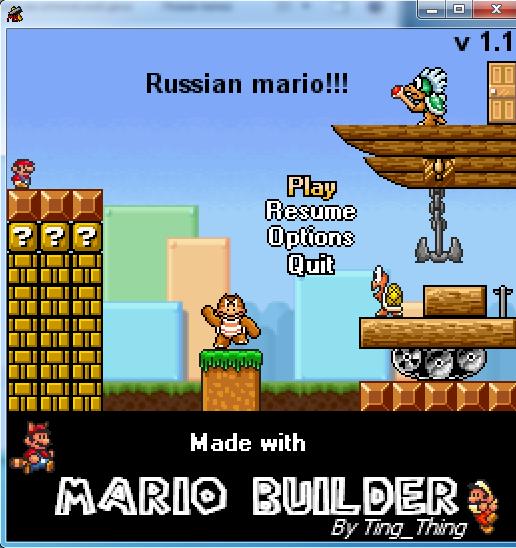 Русский марио v 1.1 Ueaae_18