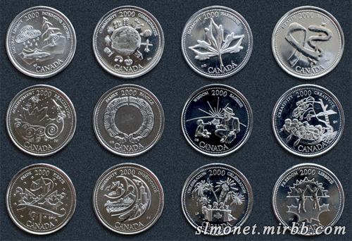 Монеты США и Канады Z_200010