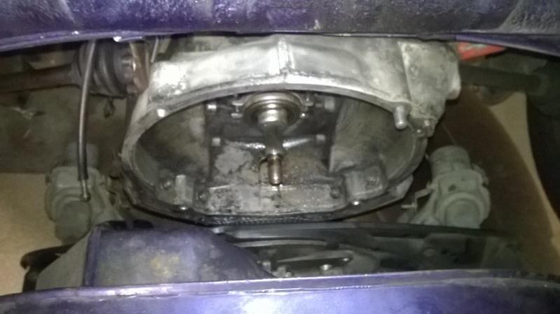 Dépose moteur et boite - y'en a besoin !!! Wp_20113