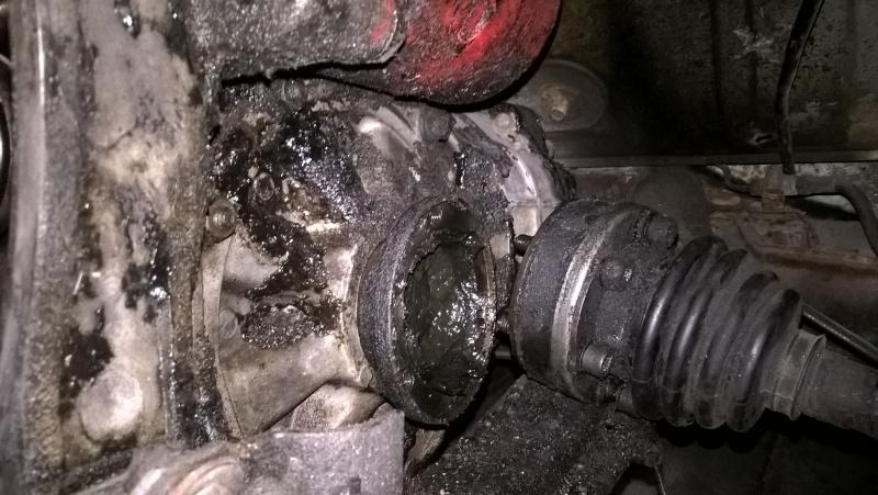 Dépose moteur et boite - y'en a besoin !!! Wp_20117