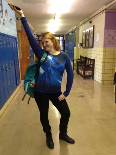 Assignment 14: Spirit Day photos from Monday (Disney) due Oct 20 Ginger10