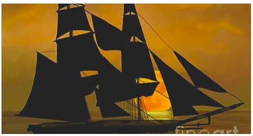Tall Ship Painting Ship_h10