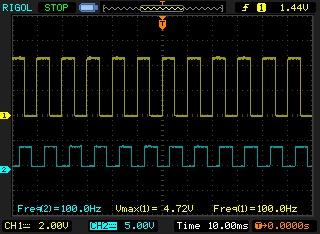 Signal de sortie générateur de fréquences sale Newfil10