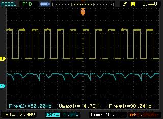 Signal de sortie générateur de fréquences sale Newfil11