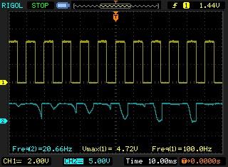 Signal de sortie générateur de fréquences sale Newfil12