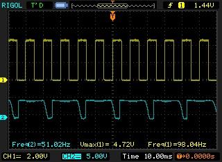 Signal de sortie générateur de fréquences sale Newfil13