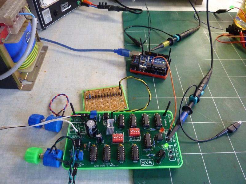 Signal de sortie générateur de fréquences sale P1080410