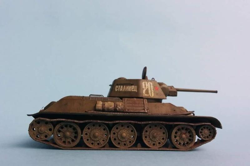Blindé - T-34/76 Zvezda 1/72 Fb_img15