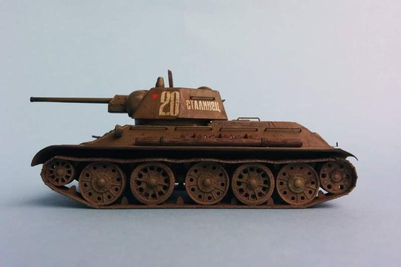 Blindé - T-34/76 Zvezda 1/72 Fb_img16