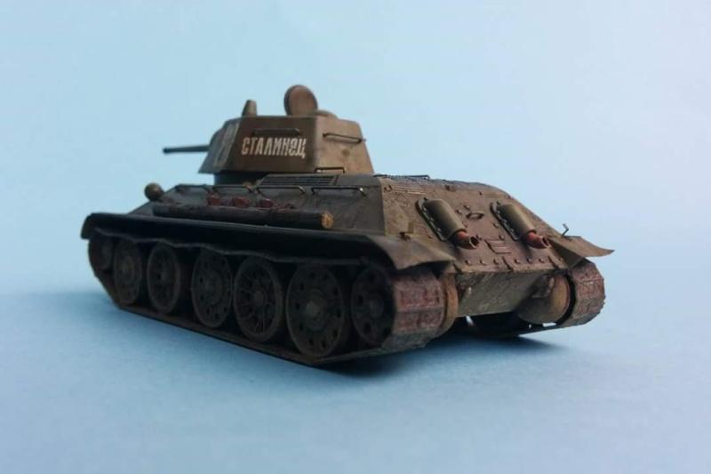 Blindé - T-34/76 Zvezda 1/72 Fb_img17