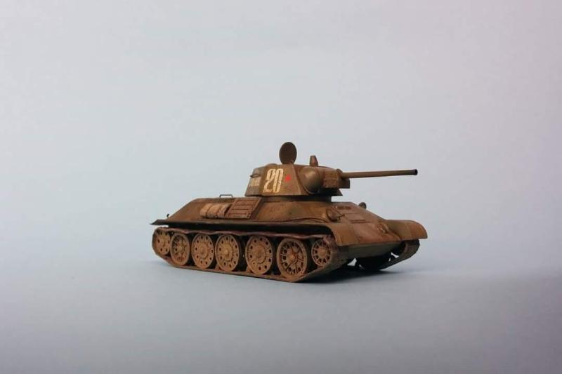 Blindé - T-34/76 Zvezda 1/72 Fb_img19