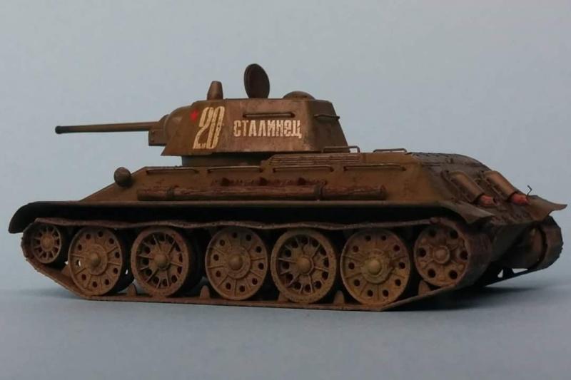 Blindé - T-34/76 Zvezda 1/72 Fb_img21