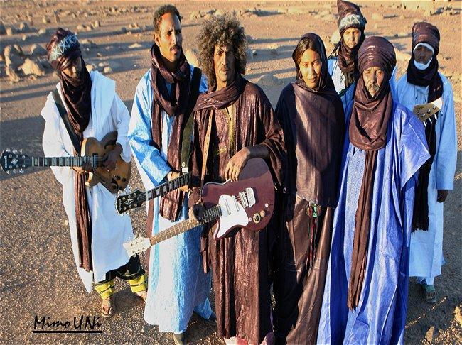 Tinariwen le triomphe  sonorités  Touareg  Tinari10