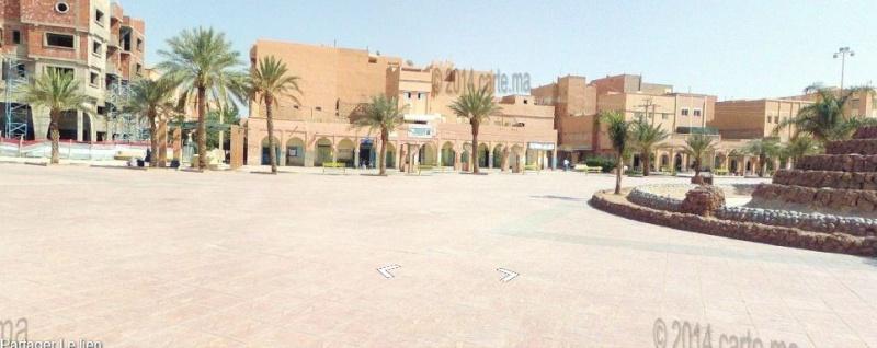 Streetview Maroc camera en rue Direct vue Morocco Errach10