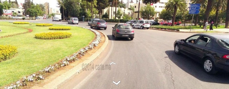 Streetview Maroc camera en rue Direct vue Morocco Fes_ma10