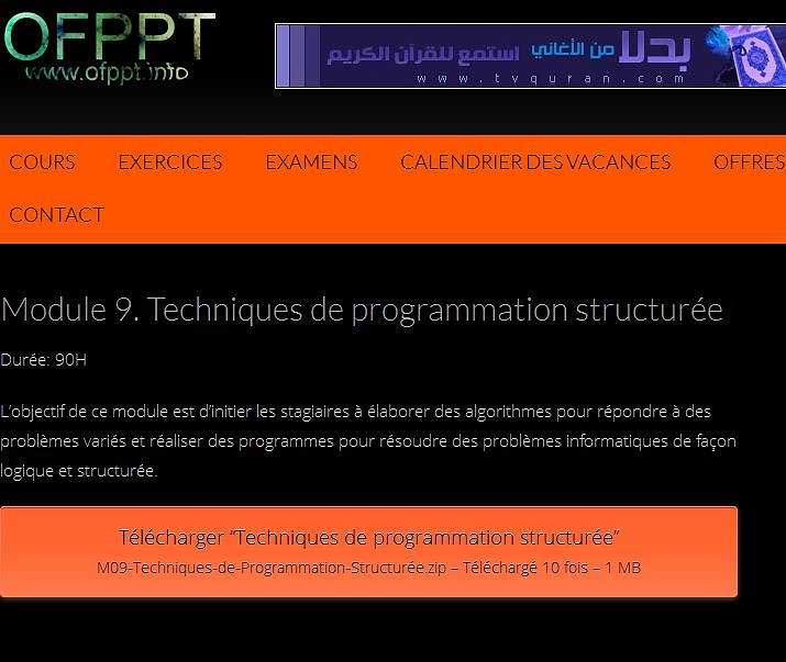 Ista techniquue de developpement Informatique  Ista_311