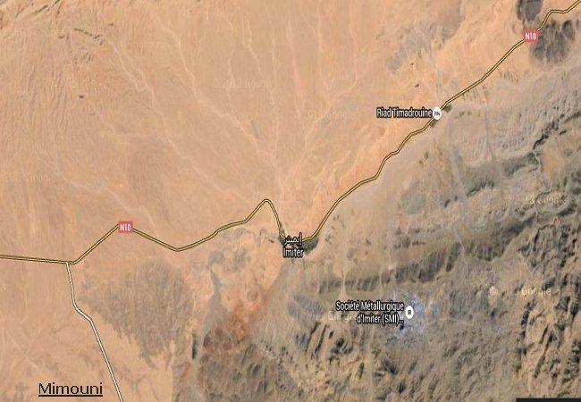 Blad en visite a Imider la plus grande mine d'argent d'Afrique est au Maroc Imider11