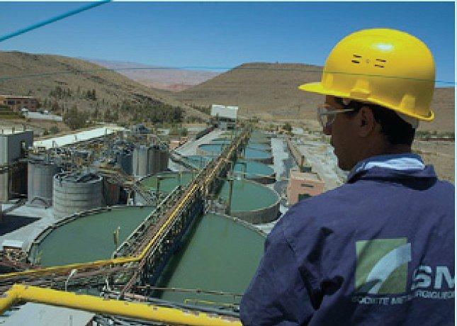Blad en visite a Imider la plus grande mine d'argent d'Afrique est au Maroc Imider12