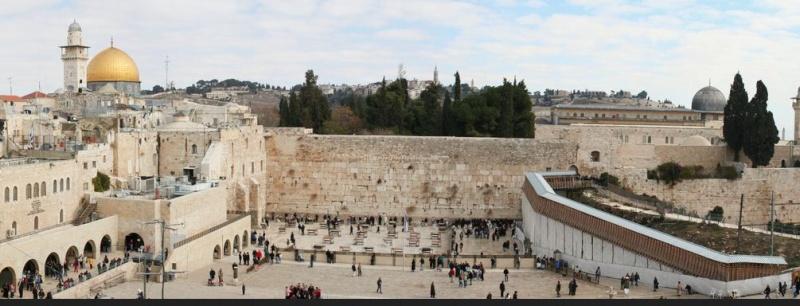 Dieu a voulu faire compliqué, il créa le mur des lamentations Mur_la11