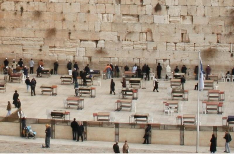 Dieu a voulu faire compliqué, il créa le mur des lamentations Mur_la12