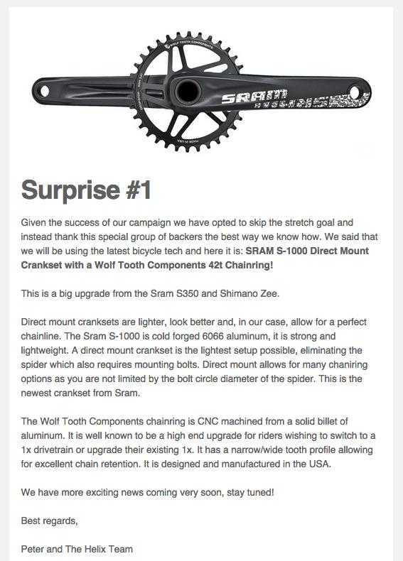Projet Helix : vélo pliant en titane - Page 3 Kickst11