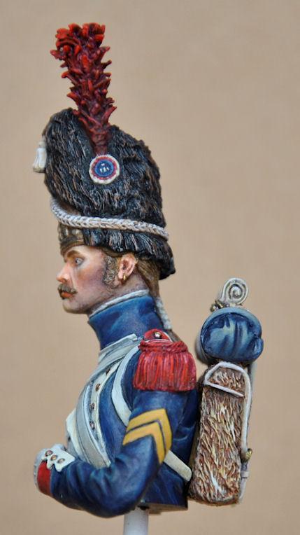 Buste - Grenadier à Pied de la Garde Impériale (Andréa) Grogna11