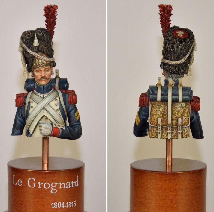 Buste - Grenadier à Pied de la Garde Impériale (Andréa) Le_gro10