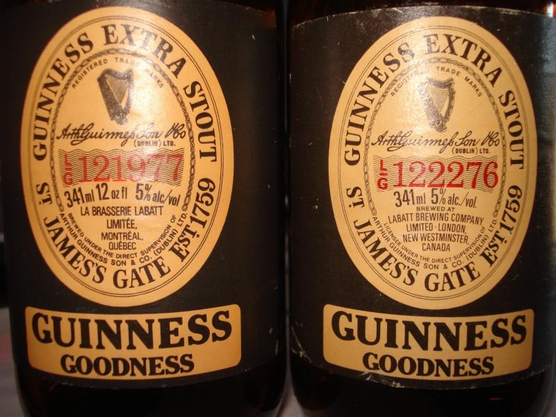 Bouteille Guinness brassée à Montréal 002_210