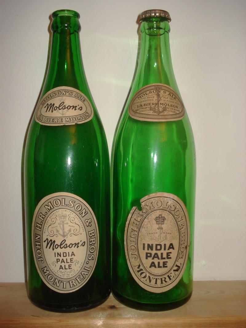 La bière que votre arrière grand-père buvait.  La Molson et autres produits 00418
